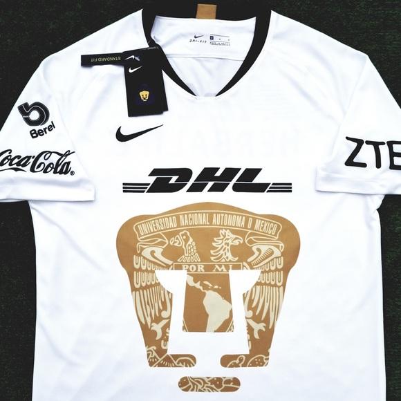 6a297f351a6 Nike Shirts | 2018 Pumas Unam Soccer Jersey Mexico Liga Mx | Poshmark
